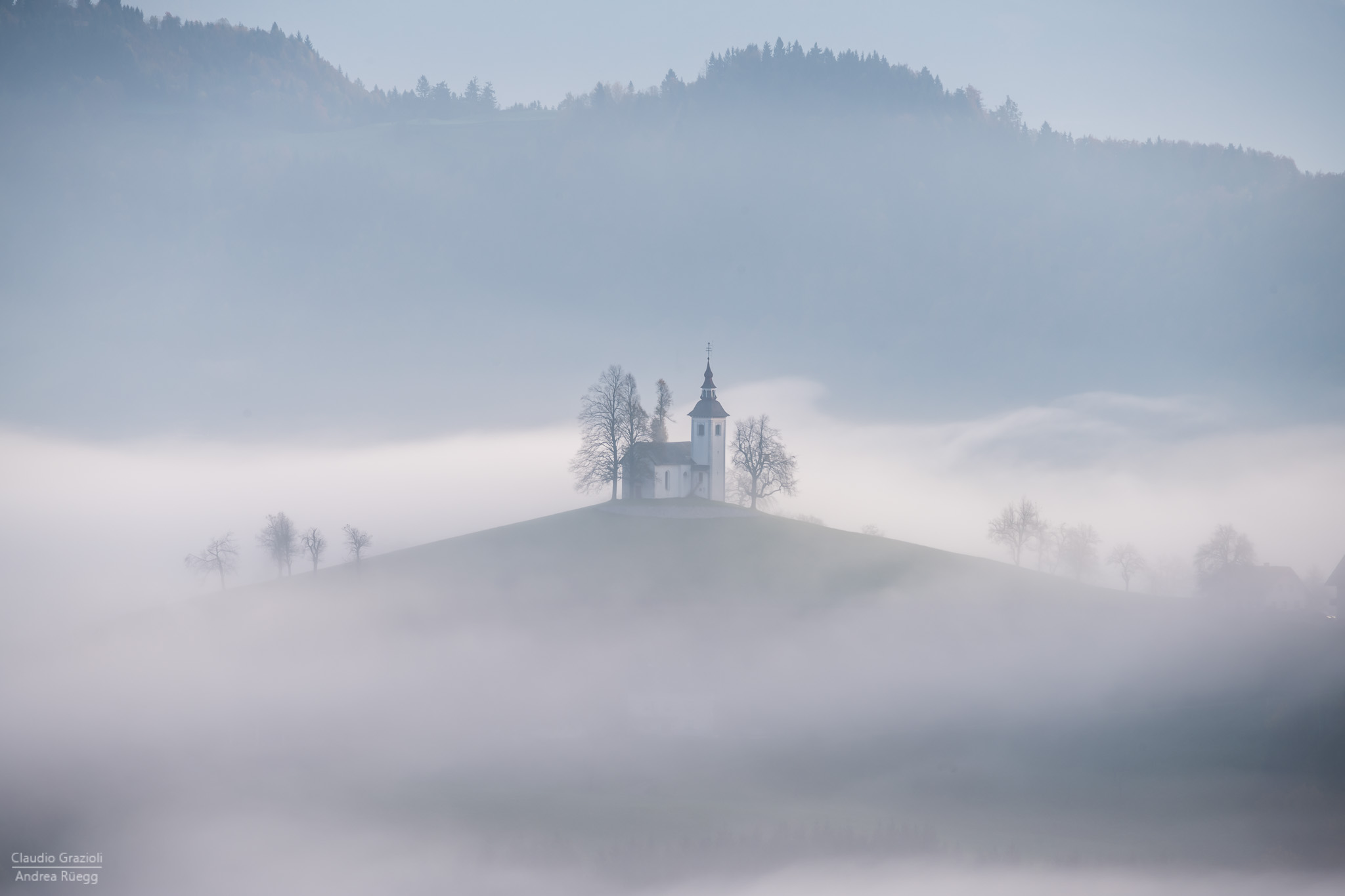 Foggy Church