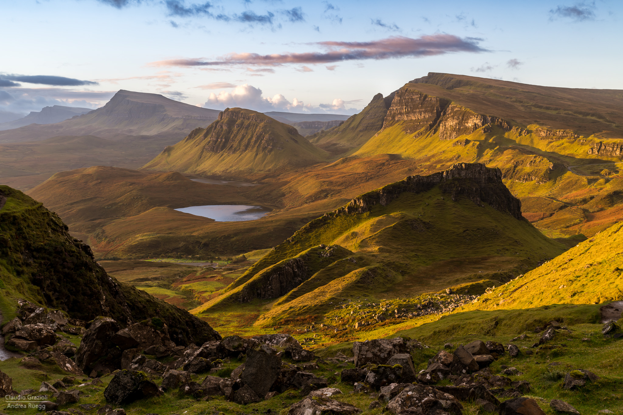 Early Morning at the Quiraing