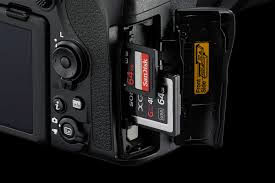 two memory card slots
